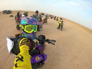 Racing India's tough race 'DESERT STORM' #SelfieWithAView #TripotoCommunity