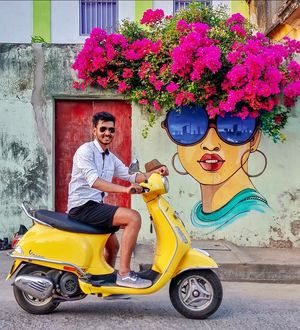 You can't help stopping by such lucrative quirky urban arts while in pondy. #streettalk #pondicherry