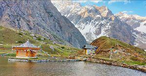 World's Highest Krishna Temple(3,895)m