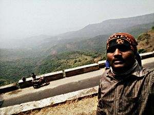 Difficult roads often lead to beautiful destinations #Selfiewithaview #Tripotocommunity