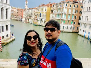 Venice with a view ????  #Tripotocommunity #selfiewithaview