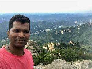 Hike to the topmost point of Bukhansan National Park #SelfieWithAView #TripotoCommunity #NatureView