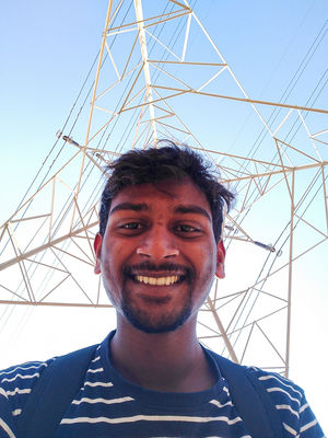 Selfie with network tower because Eiffel tower bohot dur hai????  #Tripotocommunity #SelfiWithAView