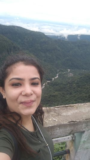 One with the greens.... #SelfieWithAView #TripotoCommunity