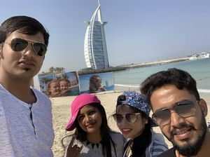 In front of the gem of the Persian gulf. #SelfieWithAView #TripotoCommunity
