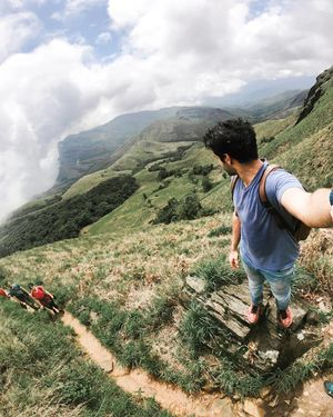 Im all the way up!  #SelfieWithAView #TripotoCommunity