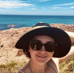 Selfie with a view at  Fisherman's Bay, Port Stephens #selfiewithaview #tripotocommunity