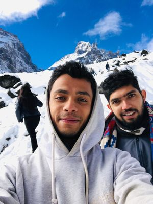 Ice on Ice  #SelfieWithAView  #TripotoCommunity