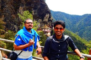 Another one at tiger's nest :) #TripotoCommunity #SelfieWithAView