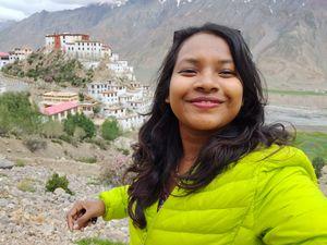 Born to travel the world! #MesmerzingSpiti #SelfieWithAView #TripotoCommunity ????