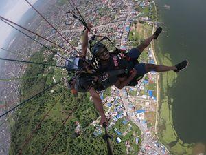 Hanging down the horizon #SelfieWithAView #Tripotocommunity
