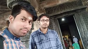 The one of the oldest and historical thousand pillars temple telangana #selfiewithaview #tripotocomm