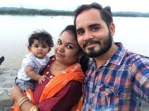 #SelfieWithAView #TripotoCommunity  #Chandigarh #sukhnalakeview #visitorspoint #fun #tripoto