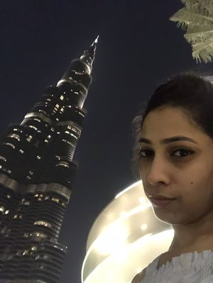 If u r standing alone then stand tall  As tall As Burj Khalifa #SelfieWithAView #TripotoCommunity