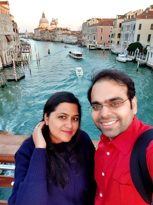 #SelfieWithAView and #TripotoCommunity  Love in Venice