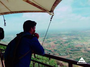 #SelfieWithAView #TripotoCommunity Nandhi hills Bangalore