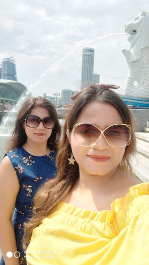#SelfieWithAView #TripotoCommunity Merlion Singapore