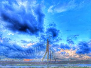 Asymmetrical Cable-Stayed Bridge : The Signature Bridge