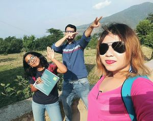 By the ranges of Bir-Billing #SelfieWithAView #TripotoCommunity