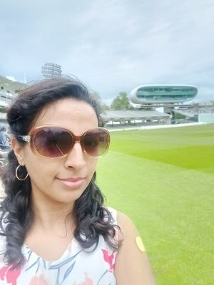 #selfiewithaview of Lord's stadium in London during #cwc19. Loved the place! #TripotoCommunity