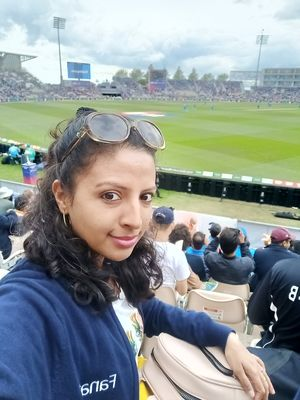 Witnessed India's victory at Southampton! #cwc19 #SelfieWithAView #TripotoCommunity #ShotOnVivoV11