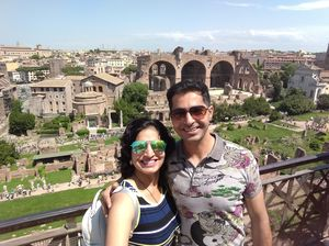 Roaming in Rome!  #SelfieWithAView #TripotoCommunity