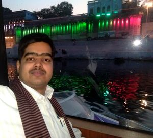 Selfie with Ganga Ghats, Ganga River and Alaknanda Cruise #SelfieWithAView #TripotoCommunity