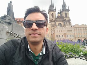 Prague Old Town Square, weekend solo getaway from Germany #SelfieWithAView #TripotoCommunity