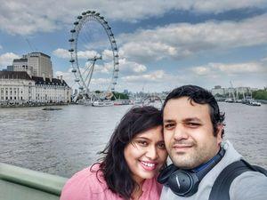 Let's capture London Eye!!!  #selfiewithaview #triptocommunity