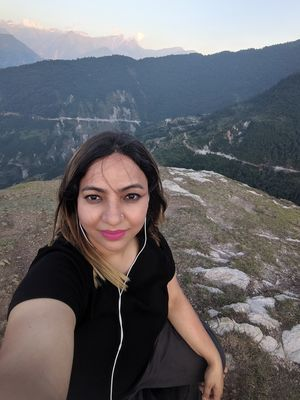 Go where you feel most alive #selfiewithaview #TripotoCommunity