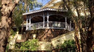 Verandah in the forest by neemrana #junglestay