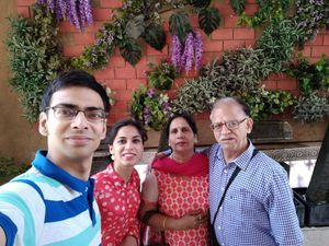 Family is the only group which stand by you till your last breath #SelfieWithAView #TripotoCommunity
