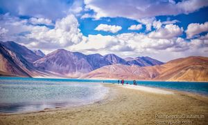 Ladakh Diaries: Pangong Tso-Canvas Of The Sky