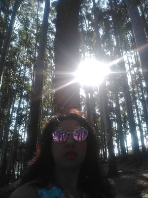 #SelfieWithAView #TripotoCommunity Tranquillity and so much beauty amidst the Eucalyptus trees