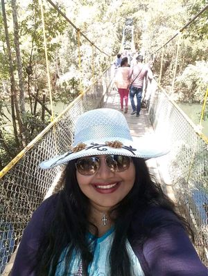 This beautiful bridge in Coord was so amazing. Loved the fact that you could enjoy the view