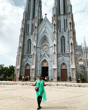 St Philomena's Church,Mysore