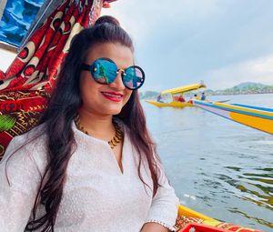 Selfie at Dal Lake (Jewel in the crown of Kashmir)  #SelfieWithAView #TripotoCommunity