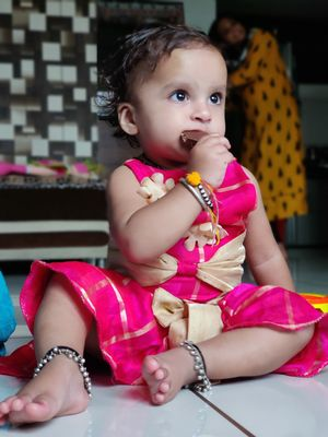 My lovely baby naviya