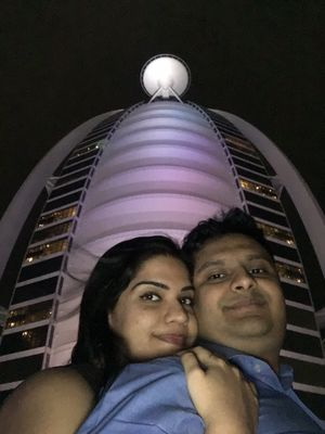 Selfie with the OG ! World's only 7-star Hotel #SelfieWithAView #TripotoCommunity