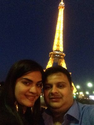 An Evening in Paris :) #SelfieWithAView #TripotoCommunity