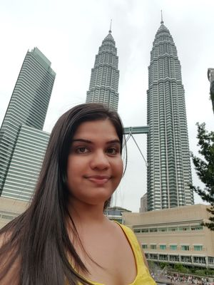 One and only, Petronas Towers. Stunning!! #SelfieWithAView #TripotoCommunity