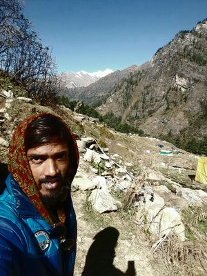 #selfiewithaview #triptocommunity               white mountains view made my treck complex..❤????