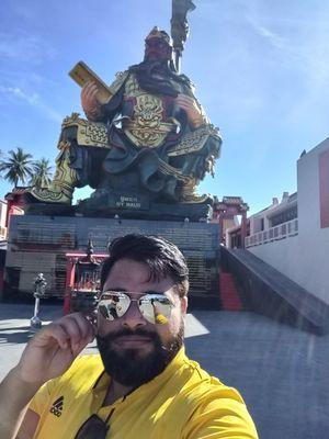 Selfie with GuangYu #selfiewithaview #tripotocommunity #selfie #tripoto #ghumakkadbevda