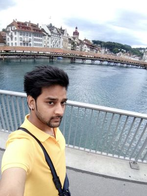 One of my favourite selfie from my Honeymoon diaries #Selfiewithaview #TripotoCommunity