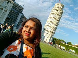 #selfiewithaview #tripotocommunity  ... Leaning Tower of Pisa