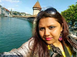 #selfiewithaview #tripotocommunity  ... Charming Chapel Bridge