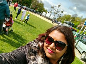#selfiewithaview #tripotocommunity  ... A view of Atomium