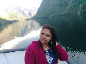 #selfiewithaview #tripotocommunity  ... scenic fjord ride to Flam