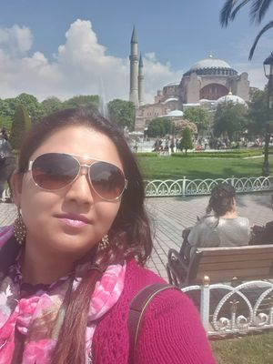 #selfiewithaview #tripotocommunity  ...  Hagia Sophia .. cathedral, mosque..now museum