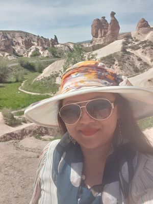 #selfiewithaview #tripotocommunity  ... Rock formation...The Camel